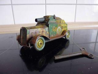 Org.  30er - - Panzer - - 2.  W.  K.  2 Funktionen - - Funktionsfähig Bild
