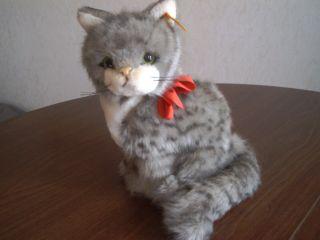 Steiff Süße Katze Tapsy Um 1989 - 90 Nr.  2740/23 Bild