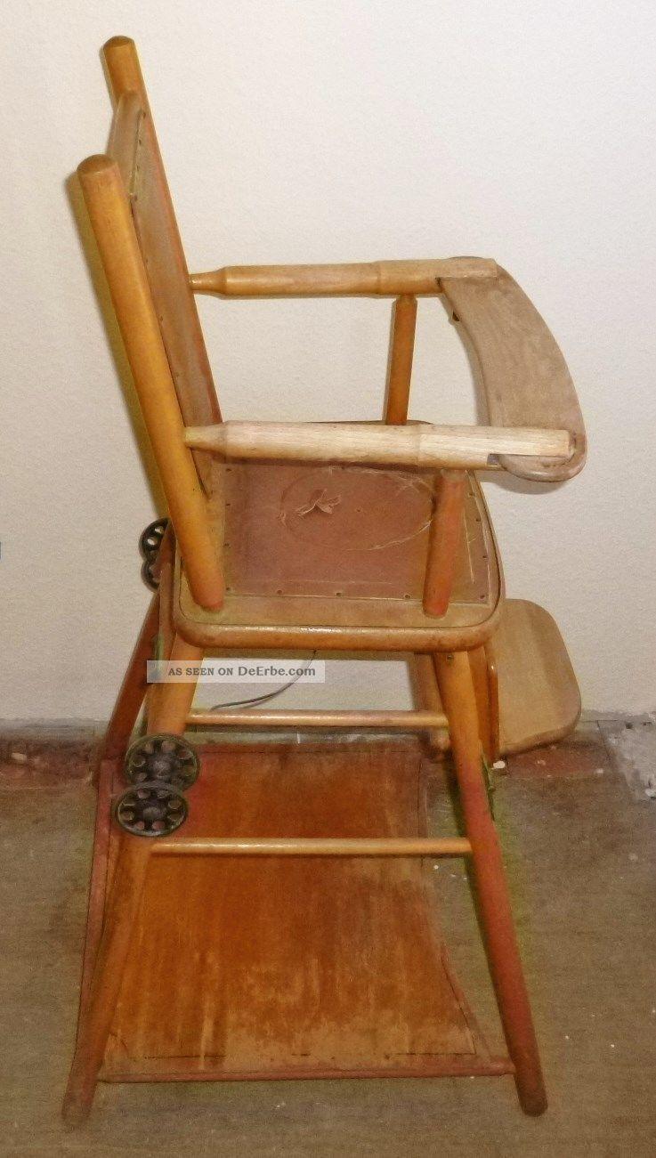 antiker naether kinder puppen hochstuhl umbaubar zum spieltisch abholung goslar. Black Bedroom Furniture Sets. Home Design Ideas