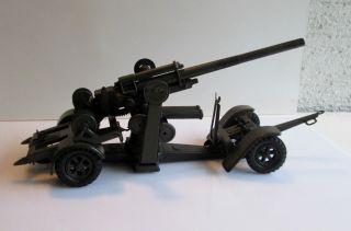 Lineol Flak 8/8 Geschütz Mit Fahrgestell Flakgeschütz Top Bild