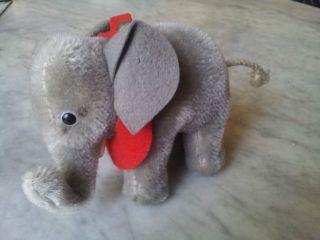 Org.  Steiff Elefant,  Aus Den 50 - 60er Jahren Bild
