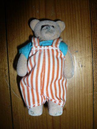 Alter Teddy - Bewegliche Arme - Nr.  03 - Uralter Kleiner Teddie - Bär 9 Cm Bild
