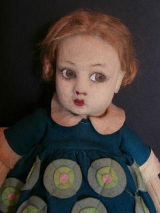 SchÖne Antike Kleine Lenci Puppe In Originalkleidung Um 1927 Serie 900 Ca.  33 Cm Bild
