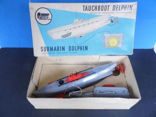 Ddr - Tauchboot Delphin Mit Ovp Bild