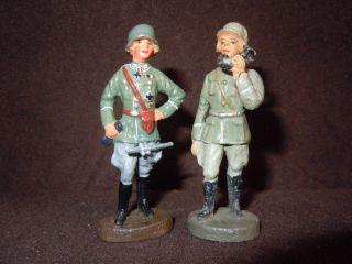 Lineol Elastolin Wehrmachtsoffiziere Von Elastolin Bild