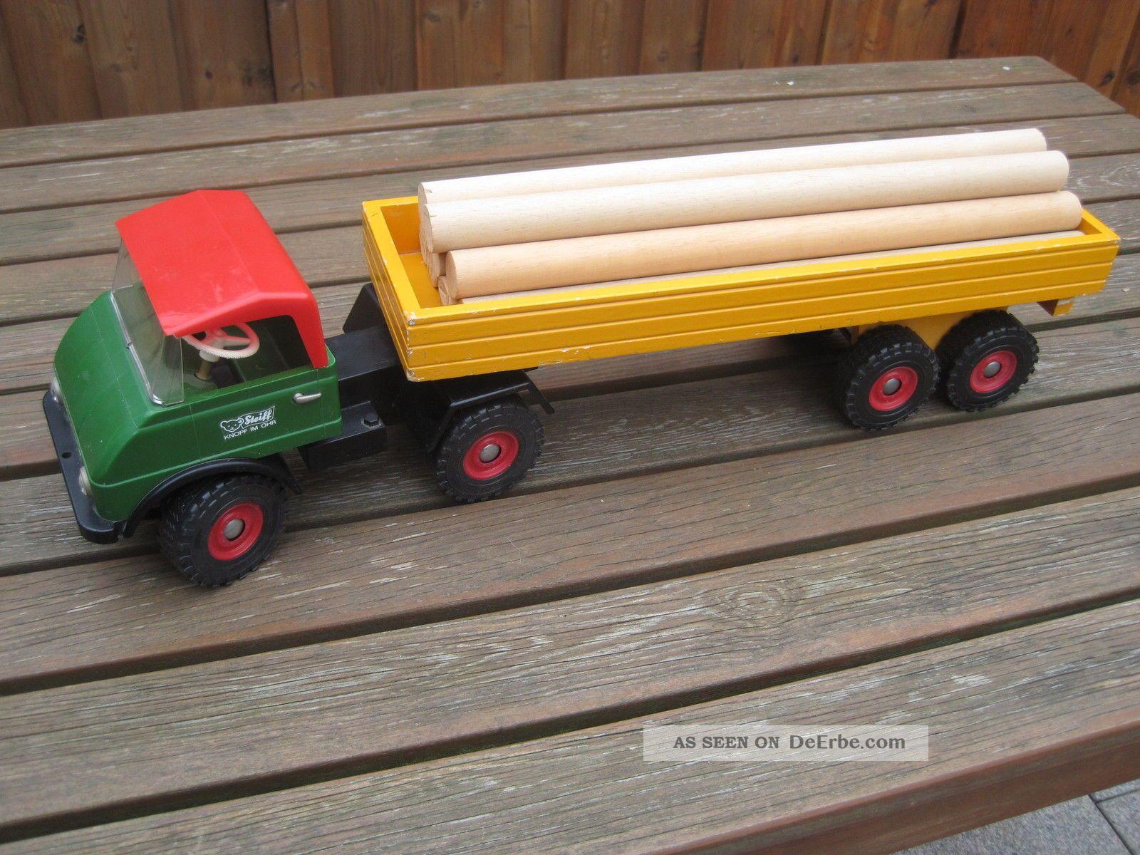 steiff unimog mit sattelauflieger 8851 16 traktor trecker. Black Bedroom Furniture Sets. Home Design Ideas