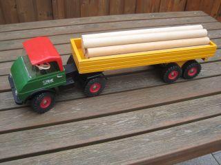 Steiff Unimog Mit Sattelauflieger 8851/16 Traktor Trecker Unimog Anhänger Bild