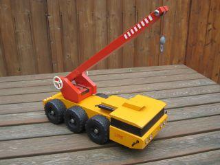 Steiff Schwerlastkran 8817/14 Kranwagen Anhänger Traktor Trecker Unimog Bild