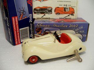 Schuco Akustico 2002 Bmw 328 Cabrio Fahrwerk,  Hupwerk Maß 1:30 Okt Miwg 1989 Bild