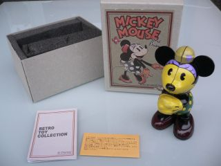 Walt Disney Blechspielzeug Figur,  Uhrwerk Minnie Mouse Ovp Bild