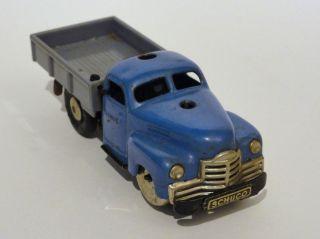 Schuco Varianto Lasto 3042 Blau Lkw Mit Schlüssel Bild