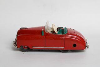 Schuco Radio 4012 Originalkarton Auto Rot Blechspielzeug Bild