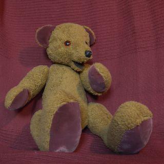 Alter Teddy Bär Mit Stimme 39cm Bild