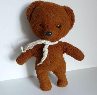 Älterer Bärenmarke Bär / Teddybär Aus Nachlass Dunkelbraun Bild