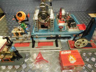 Wilesco D20 Dampfmaschine Mit Zubehör Bild