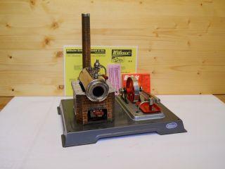 (56) Alte Wilesco Dampfmaschine D 8 Schwungrad Mit Sechs Speichen Bild