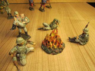 Lineol Soldaten Kunststofffiguren Bild