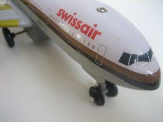 Dc10,  Dc 10 Boeing Blechflugzeug Mit Batterie Passagierflugzeug Swissair Bild