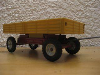 Traktor Anhänger In Gelb Cko Kellermann & Company,  70er Jahre Ohne Orig.  Verpck. Bild