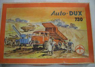 Auto Dux 730 Autobaukasten,  Dux Auto Bild