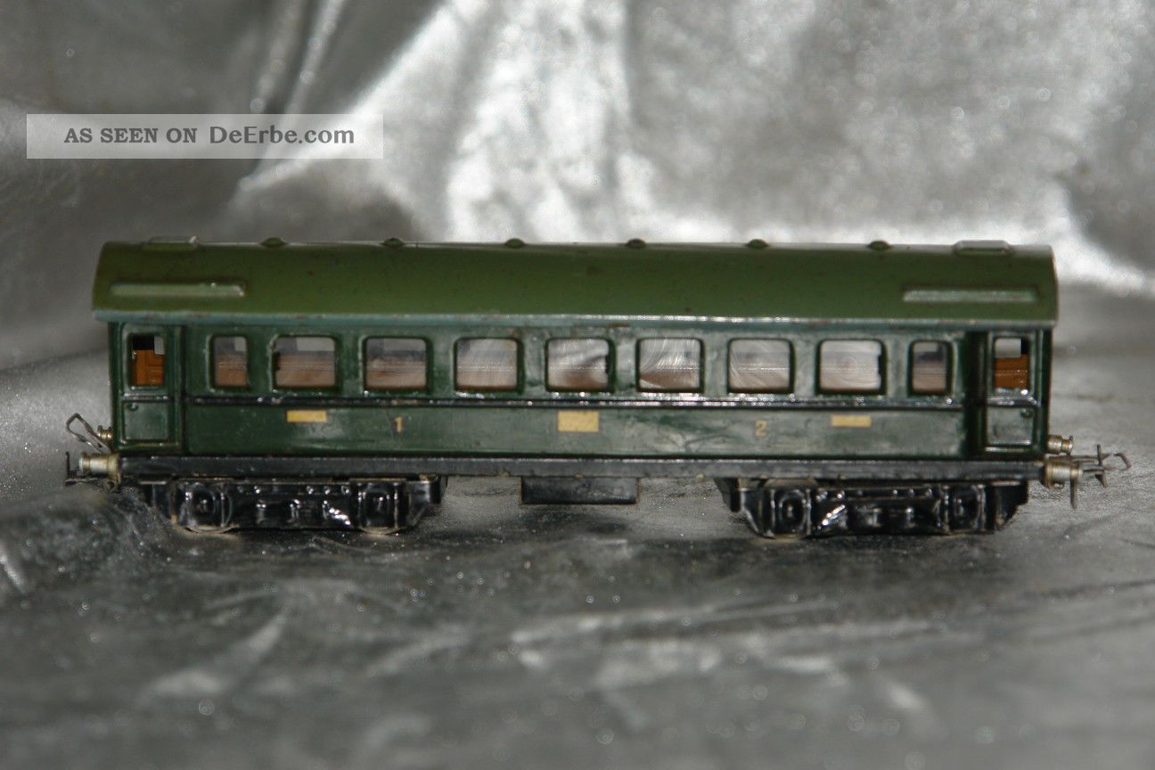 spur h0 00 m rklin personenwagen 1 2 klasse ca 1936 opas alte eisenbahn. Black Bedroom Furniture Sets. Home Design Ideas