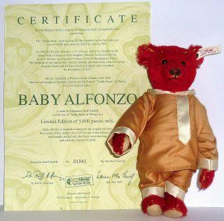 Steiff Alfonzo Baby Limitiert 5000 Stück Ovp Bild