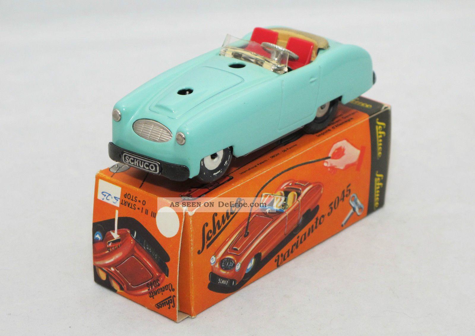 Germany Boxed Spielzeug Schuco Varianto 3045 Cabriolet Mit Schlüssel W