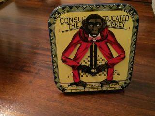 Blechspielzeug Rechenaffe - Consul The Educated Monkey Bild