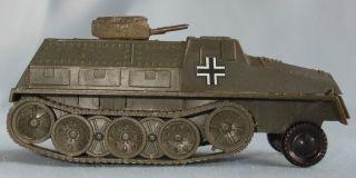 Modell Schwerer Wehrmachtsschlepper Made In W - Germany Miniatur Dbgm Bild