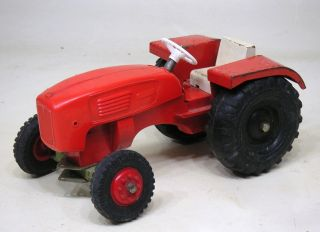 Steiff Traktor,  Schlepper,  Trecker Man Bild