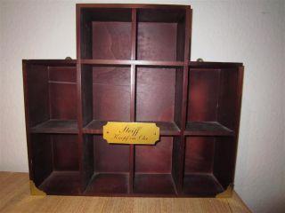 Steiff Ausstellungs - / Setzkasten Aus Holz Bild
