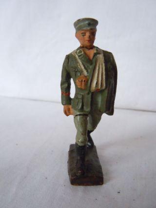 Lineol Elastolin Deutscher Verwundeter Von Lineol Wehrmachtssoldat 7 Cm Serie Bild