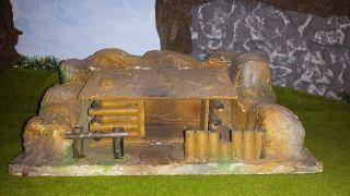 Fort/blockhaus/unterstand/ddr Indianer/cowboys/zubehör/landschaft/diorama Bild