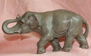 Indischer Elefant,  Elastolin,  Rar,  Natur,  Figur,  Tiere Bild