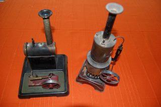 Zwei Dampfmaschinen,  Gemarkt,  Wohl Von Bing Bild