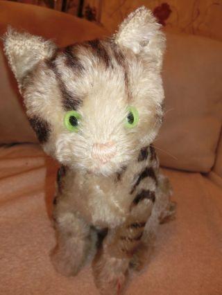 Steiff Antik Spielzeug Tiere Katze U.  S.  Zone Bild