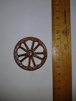 Elastolin Ersatzteil Rad Für Kutsche Bild