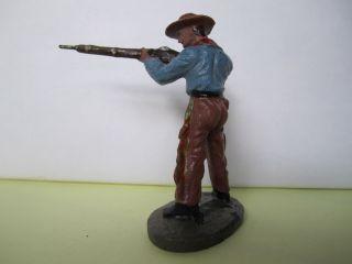 Masse Cowboy Stehend Mit Gewehr Von Tipple Topple,  7 Cm. Bild