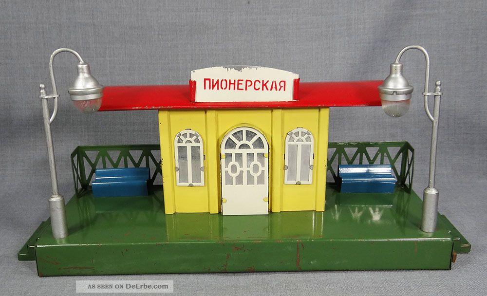 Er udssr moskabel pionerskaya eisenbahn diesellok spur