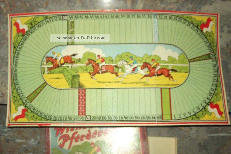 Brettspiel Pferderennen