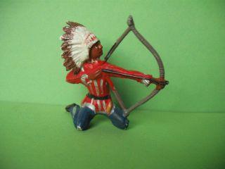 Merten Indianer Knieend Mit Bogen,  Zu 6 Cm Bild