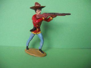 Merten Cowboy Mit Gewehr,  Rote Jacke,  Zu 6 Cm Bild