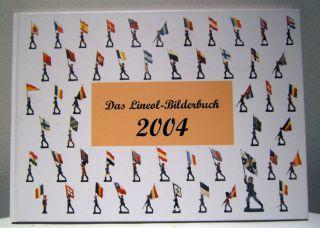 Das Lineol Bilderbuch 2004,  Fachbuch Massefiguren,  Isbn 3 - 9809696 - 0 - 6,  Neuwertig Bild