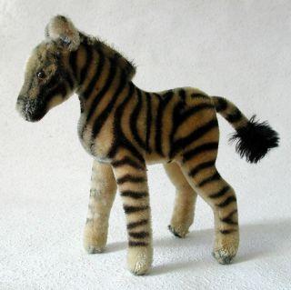SchÖnes Steiff Zebra 22 Cm 1959/62 Bild
