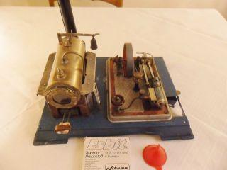 Uralte Wilesco Dampfmaschine - Für Sammler Bild