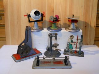 (16) Wilesco 7 Teile Antriebsmodelle Für Dampfmaschine Bild