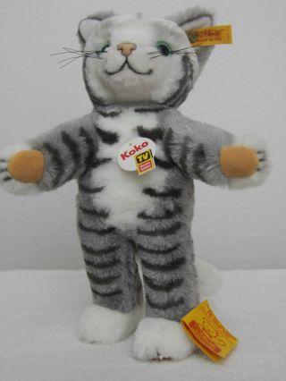 Steiff Katze Koko Aus  Tv HÖren Und Sehen  Unbespieltes Sammlerstück Bild