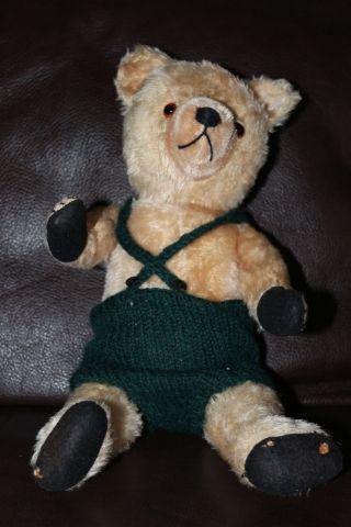 Alter Antiker Bär Teddy Von Steiff 45 Cm Bild