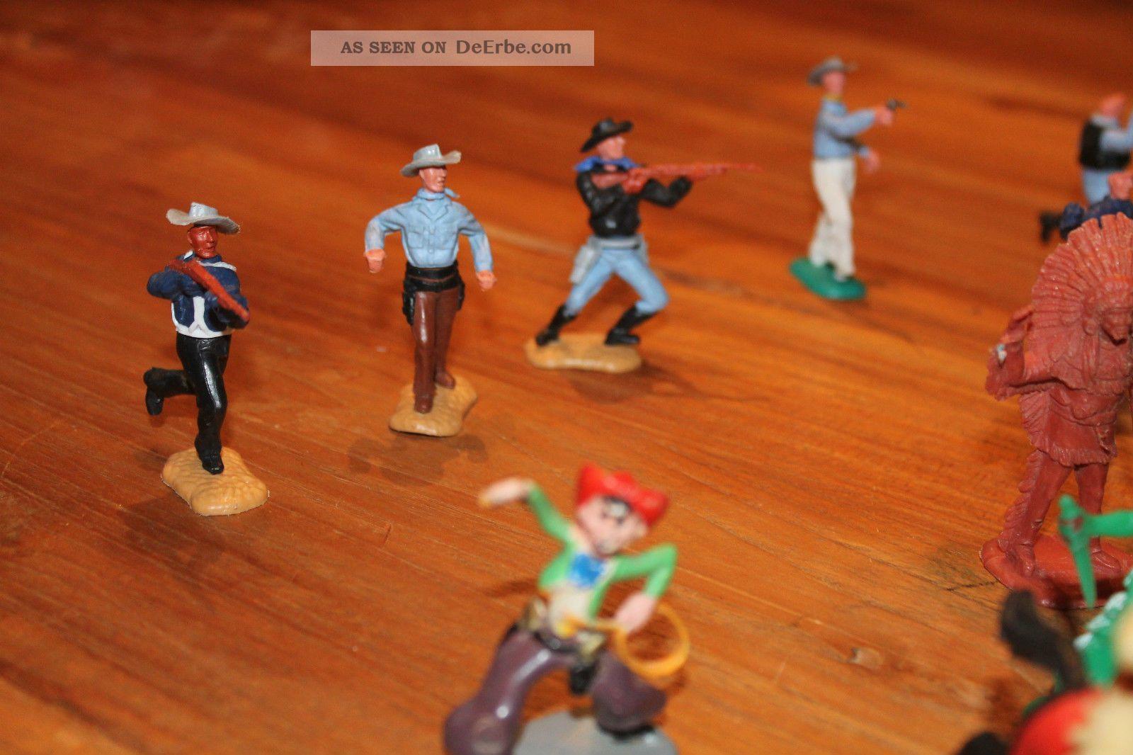 spielfiguren cowboy und indianer f r western fort. Black Bedroom Furniture Sets. Home Design Ideas