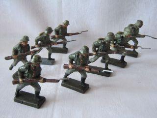 Infanterie / Stoßtrupp Um 1939 Lineol 7 Cm Bild